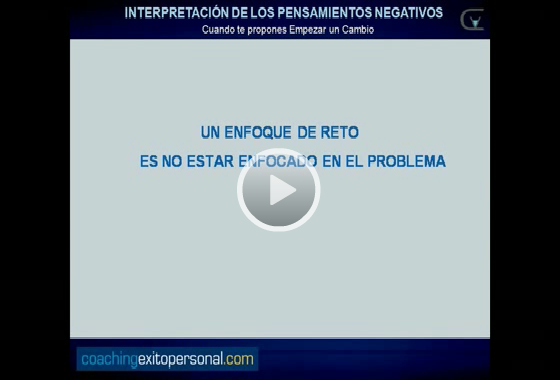 pensamientos negativos video coaching