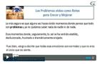 Videos Crecimiento Personal problemas retos