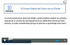 Videos Coaching Coaches crecimiento personal coach coaching personal errores