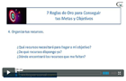 Videos exito coaching lograr metas objetivos